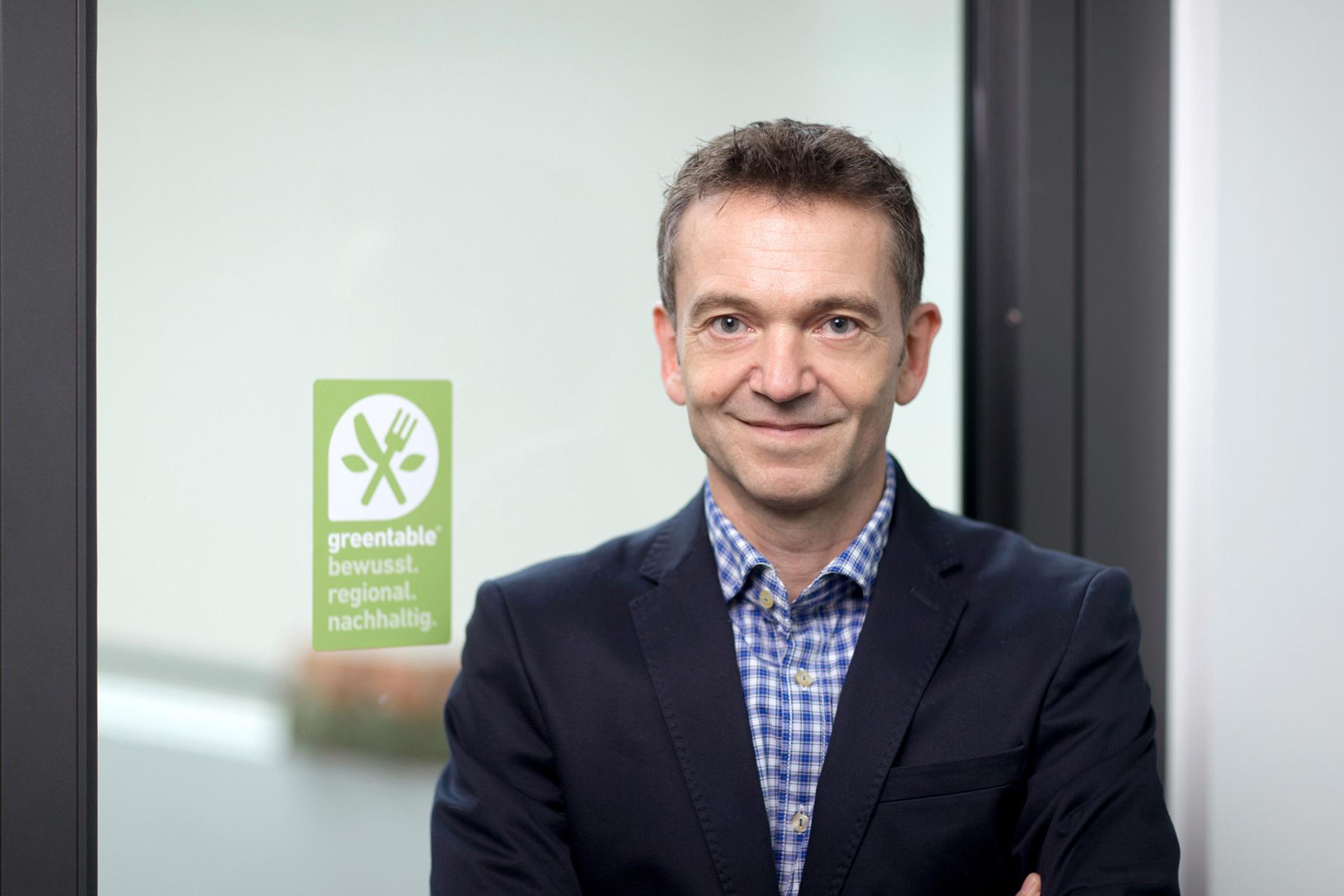 Greentable Gründer Matthias Tritsch