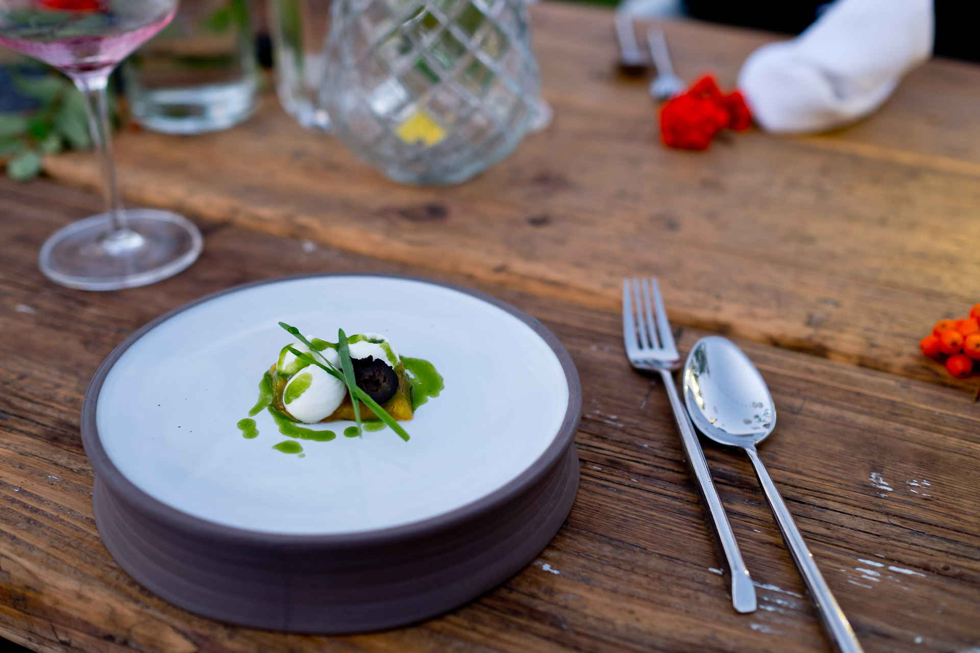 Farm to Table Dinner mit Jens Rittmeyer
